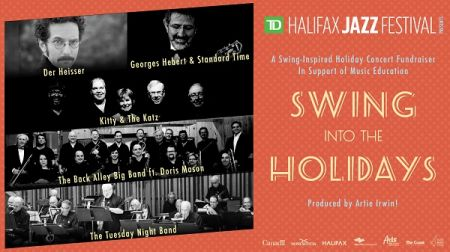 Swing into the Holidays at Spatz Theatre Sun Dec 9 2018 at 7:00 pm