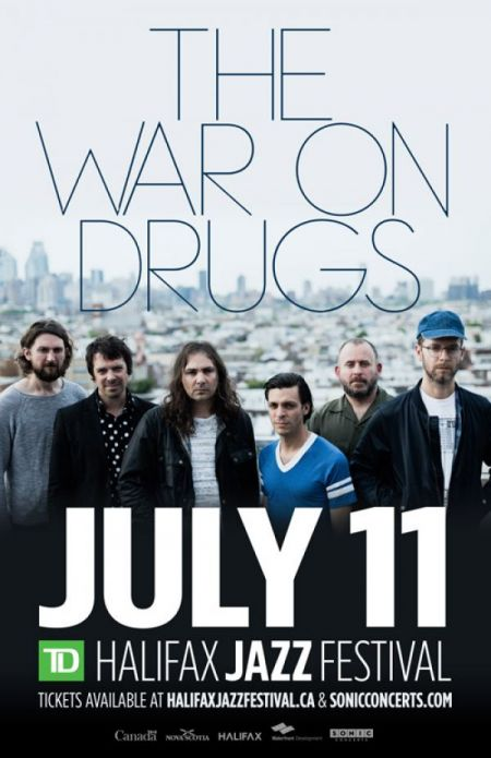 2018 TD Halifax Jazz Festival: THE WAR ON DRUGS at Waterfront Stage Wed Jul 11 2018 at 8:30 pm